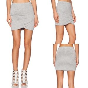 4/$25 Bella Luxx Shirred Cross Front Skirt